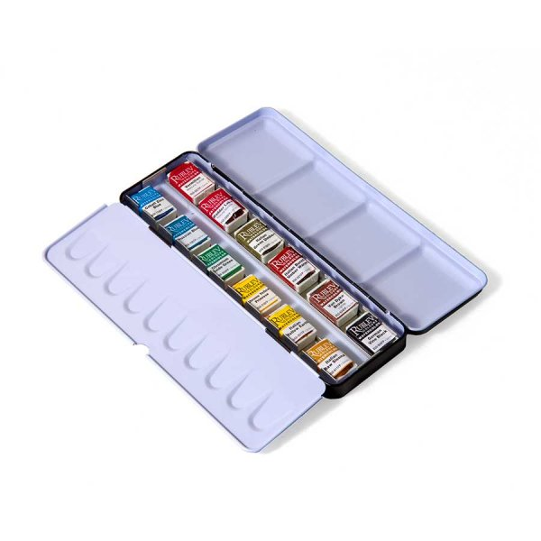 Watercolor Pan Set (18 Full Pans)