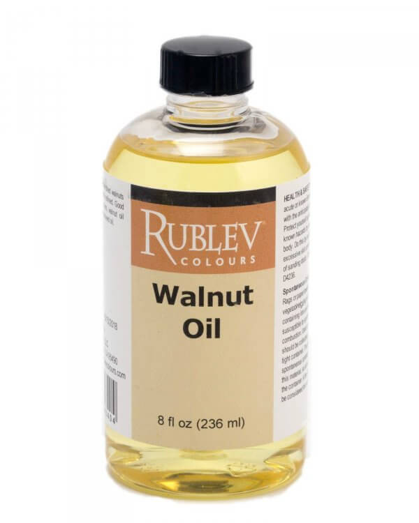 Walnut Oil - Oil Painting Mediums - Natural Pigments