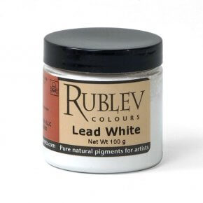 Rublev Colours Lead White (Vol 4 oz)