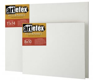 Artefex Allinpanel Linen Canvas Mounted ACM Panel