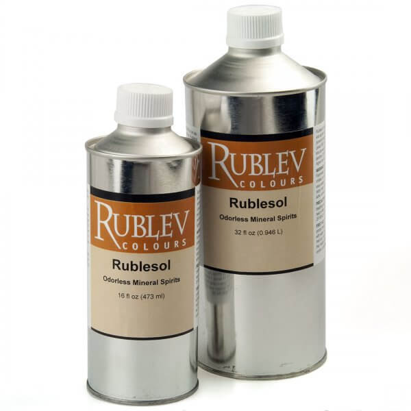 Rublesol Odorless Mineral Spirits - Oil Painting Mediums
