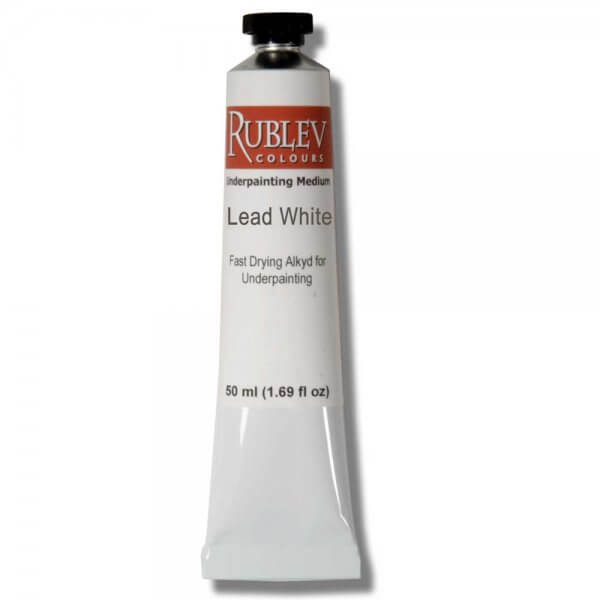 Underpainting lead white 50 ml tube