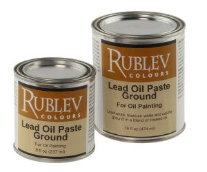 Lead Oil Paste Ground