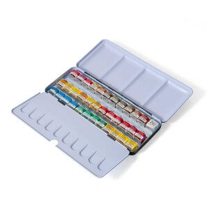 Watercolor Pan Set (36 Half Pans)