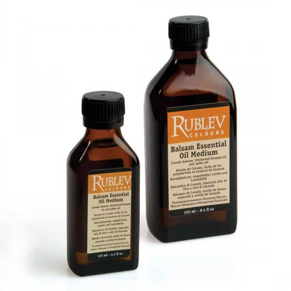 Rublev Colours Balsam Essential Oil Medium in bottles