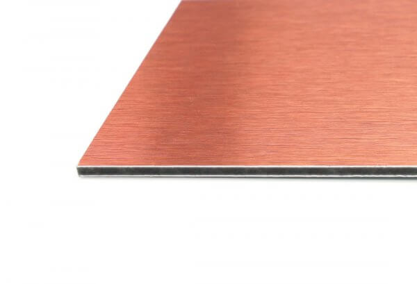 Copper Artist Panel (edge view)