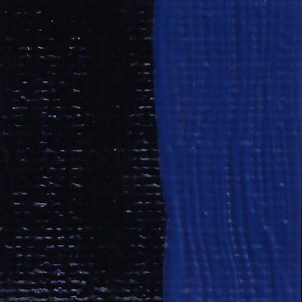 Rublev Colours Prussian Blue Artists Oil Swatch