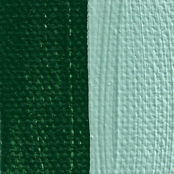Rublev Colours Nicosia Green Earth Oil Paint Swatch