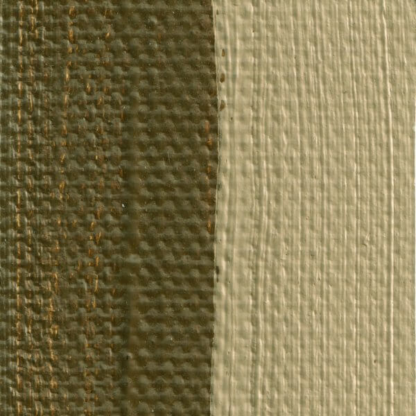 French Raw Sienna Oil Paint Coror Swatch