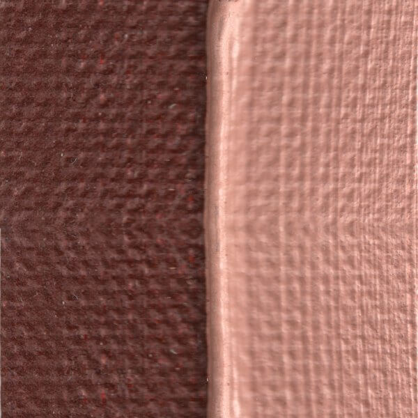 French Burnt Sienna Oil Paint Color Swatch
