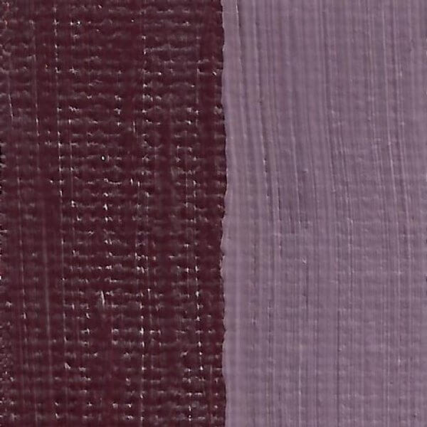 Rublev Colours Violet Hematite Artist Oil Swatch