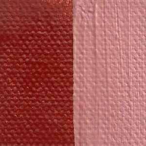 Rublev Colours Venetian Red Artist Oil Paint (Swatch)