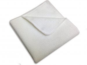 Micro-Fiber Cleaning Cloth (White)