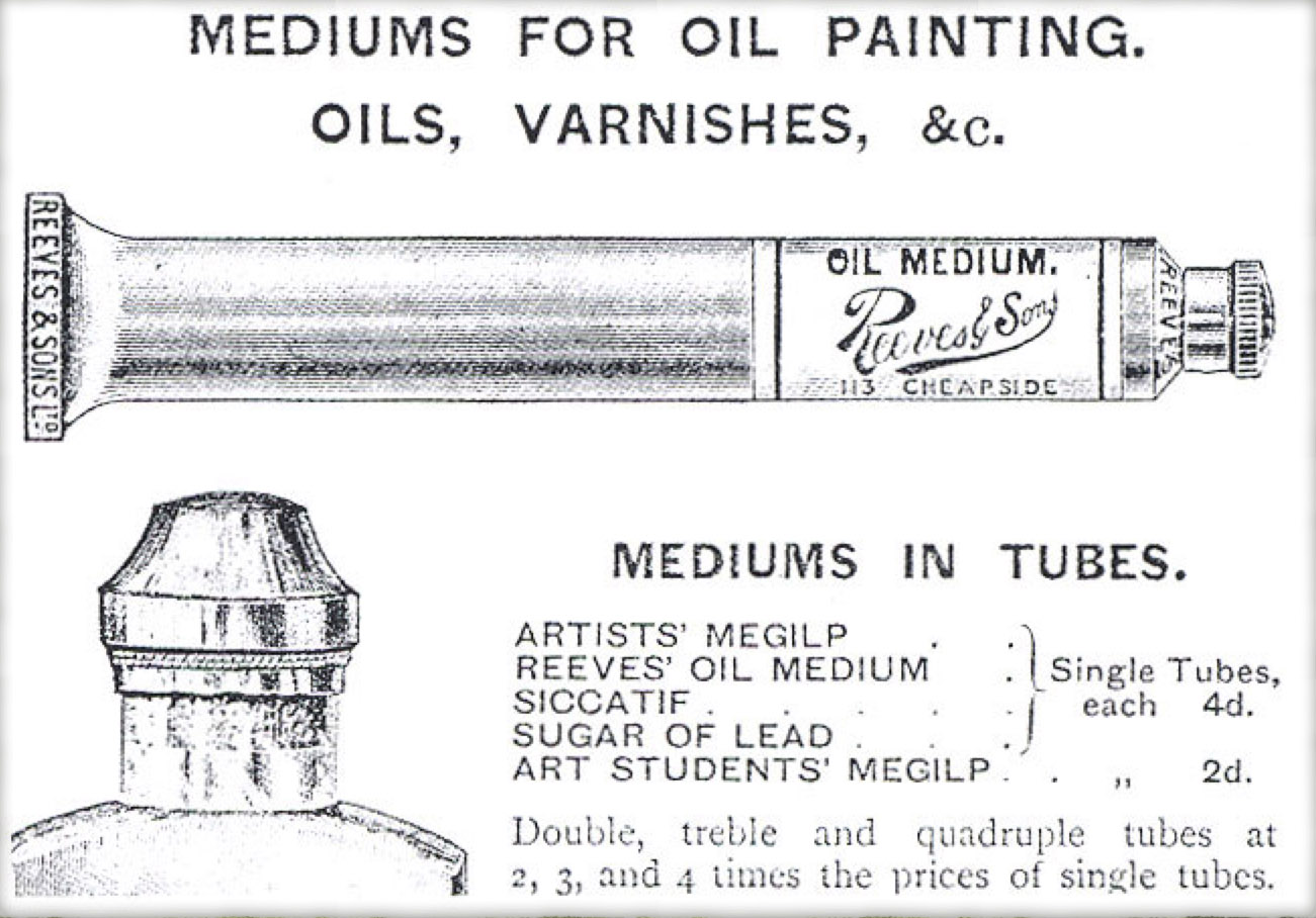 Artists Materials - Changes in Binding Media and the Search