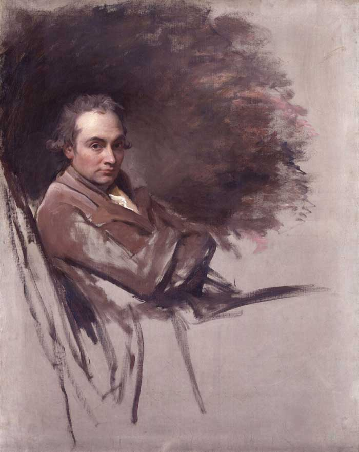 George Romney Self Portrait
