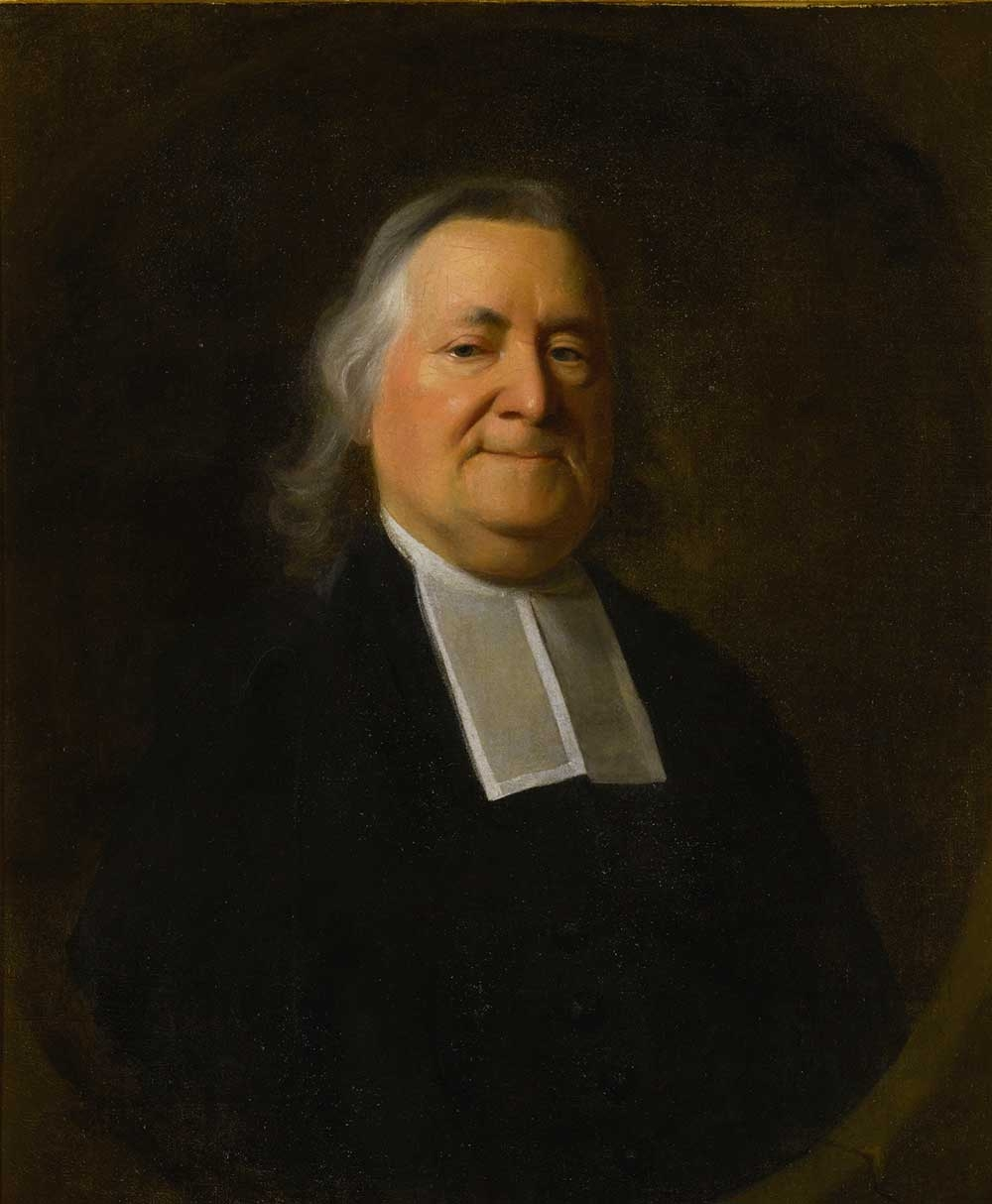 John Singleton Copley, Reverend Joseph Sewall, c. 1766, oil on canvas, 30 by 25 inches