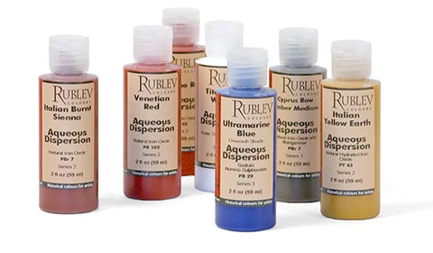 Rublev Colours Aqueous Pigment Dispersions