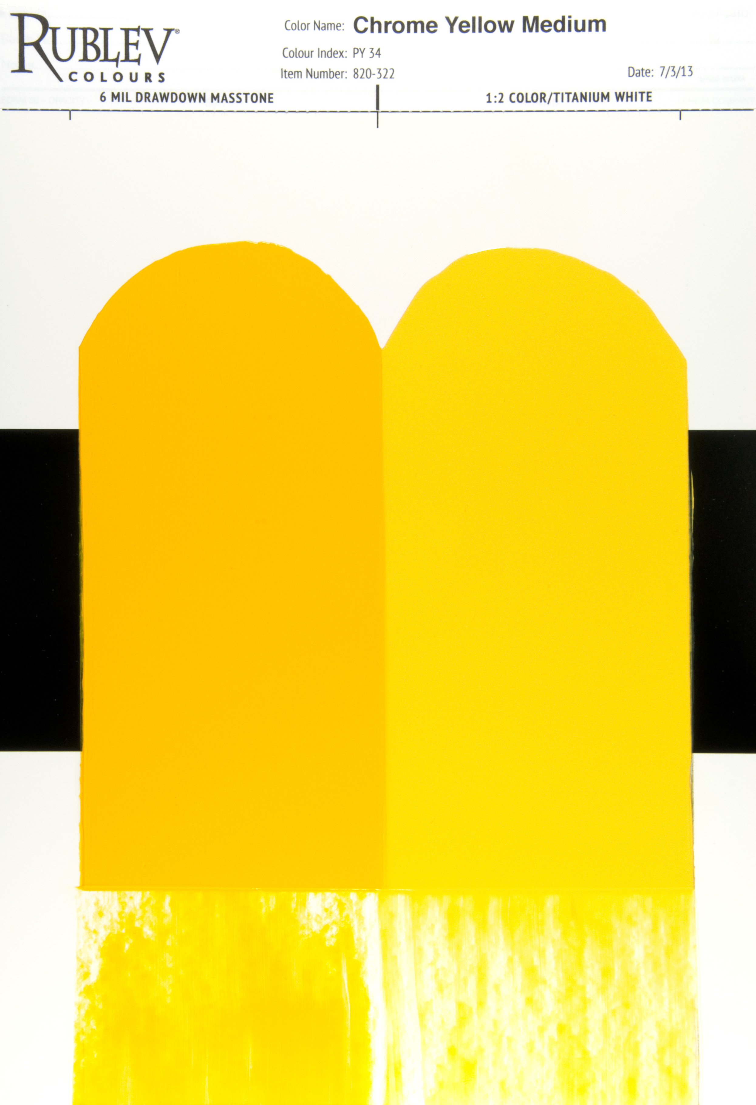 Shades Of Yellow Names artists materials - chrome yellow: a primary color with a brief