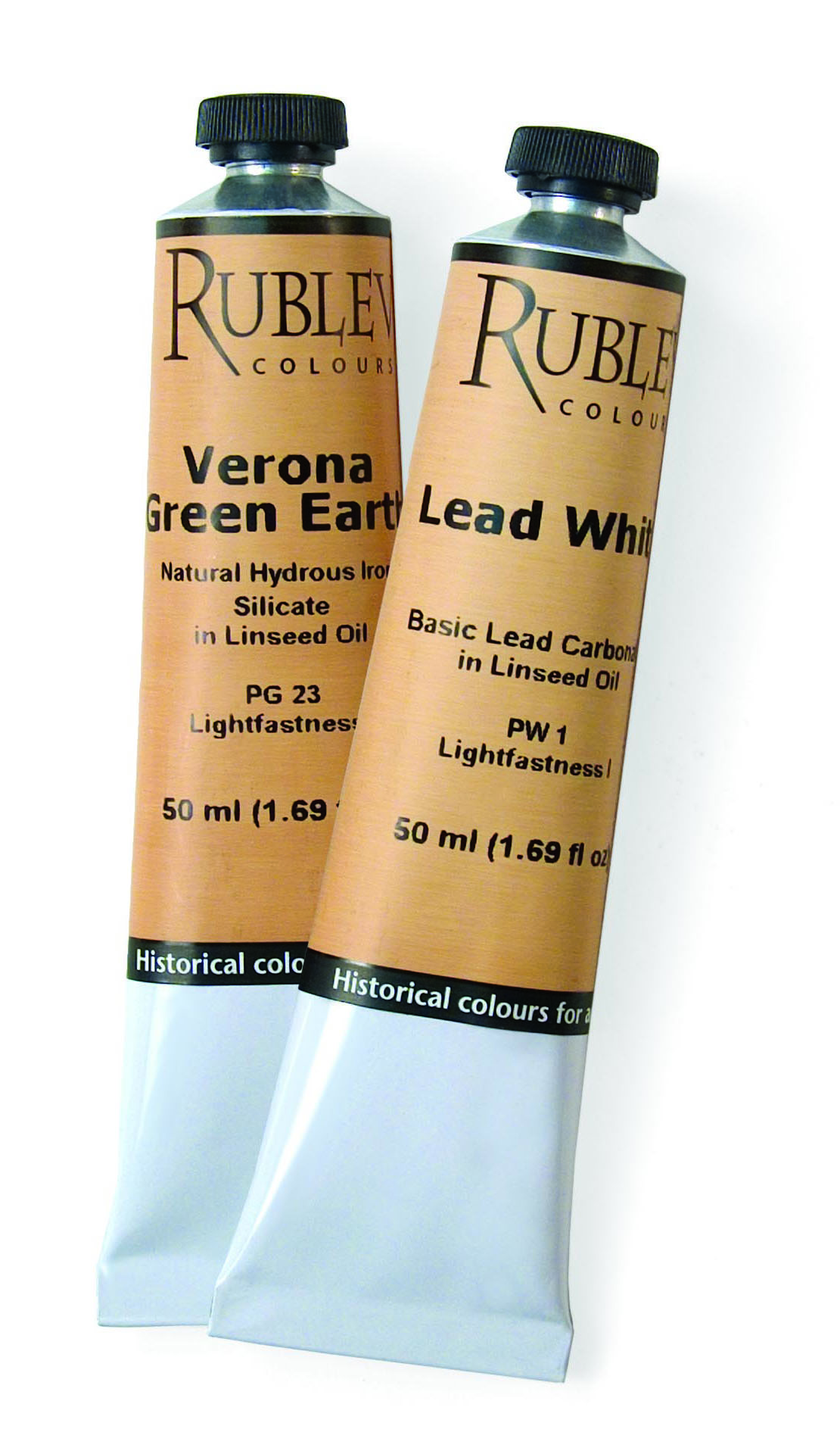 Rublev Colours Artist Oils 50ml tubes
